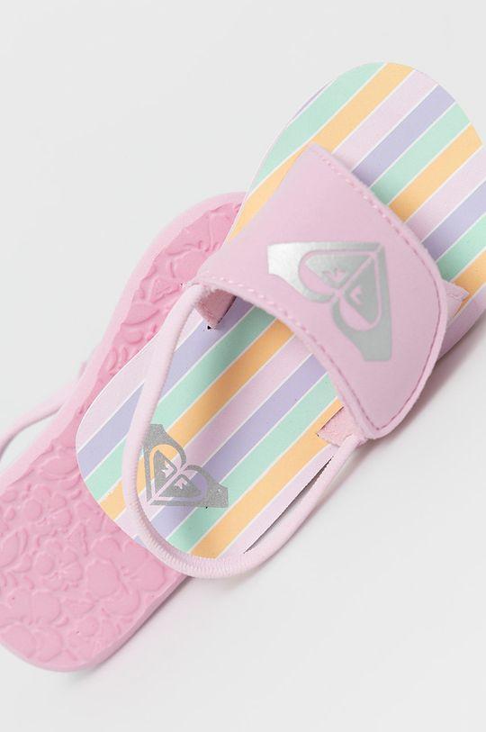 pastelově růžová Roxy - Dětské sandály