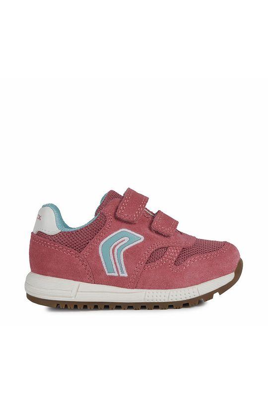 fuchsiová Geox - Dětské boty Dívčí