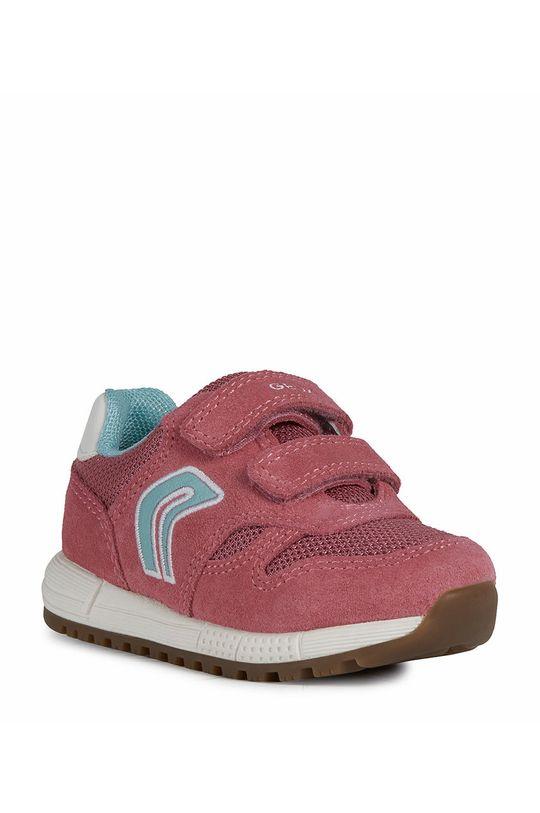 Geox - Dětské boty fuchsiová