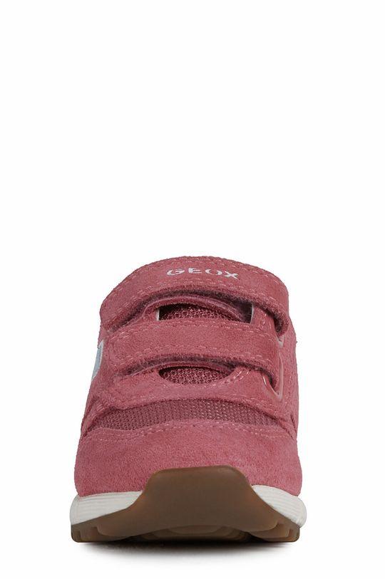 Geox - Dětské boty  Svršek: Umělá hmota, Textilní materiál, Semišová kůže Vnitřek: Textilní materiál Podrážka: Umělá hmota Vložka: Přírodní kůže