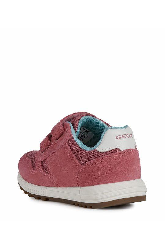 fuchsiová Geox - Dětské boty