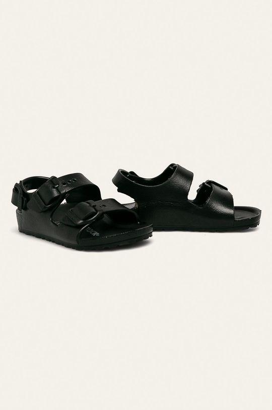 Birkenstock - Detské sandále Milano Eva čierna