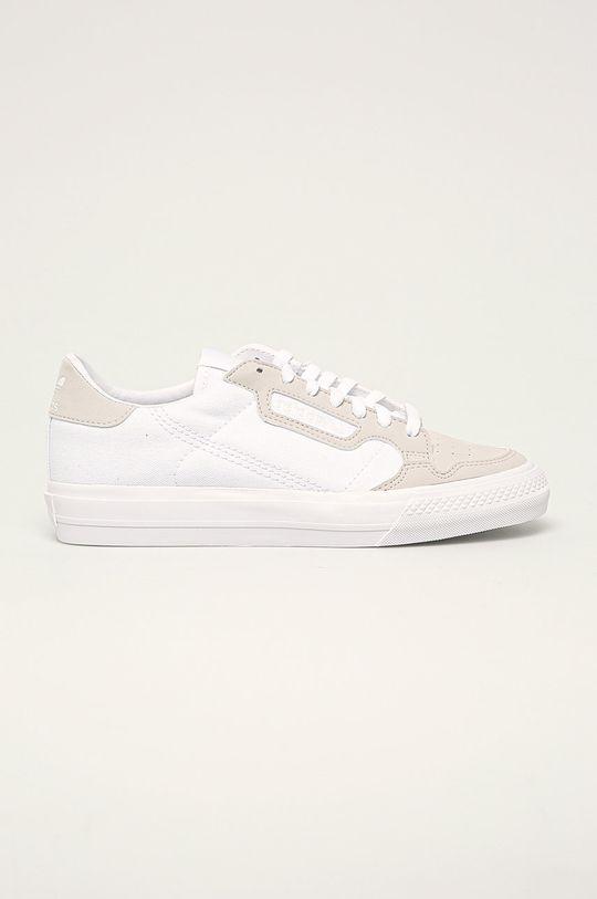 bílá adidas Originals - Dětské boty Continental Vulc Dětský