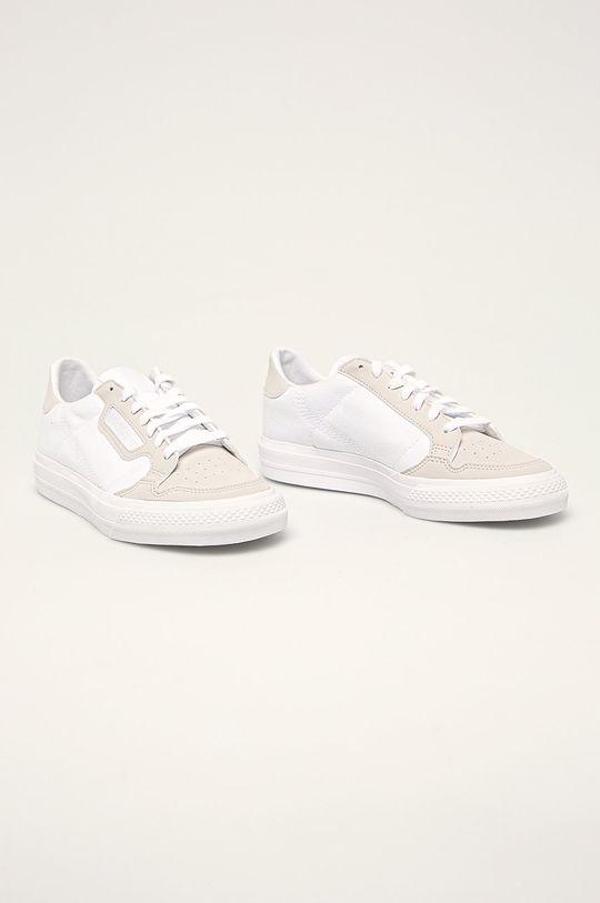 adidas Originals - Dětské boty Continental Vulc bílá