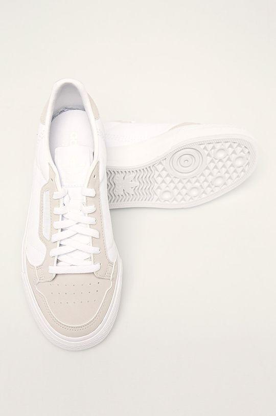 bílá adidas Originals - Dětské boty Continental Vulc