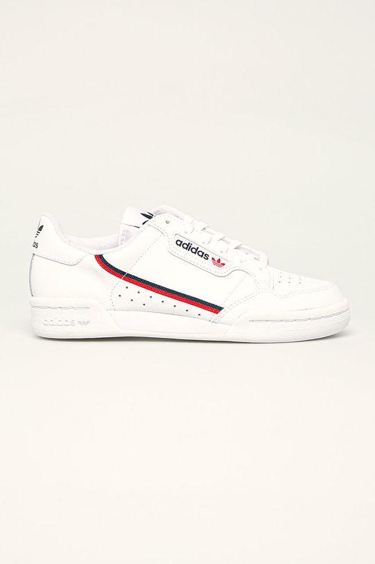 alb adidas Originals - Pantofi copii Continental 80 De copii