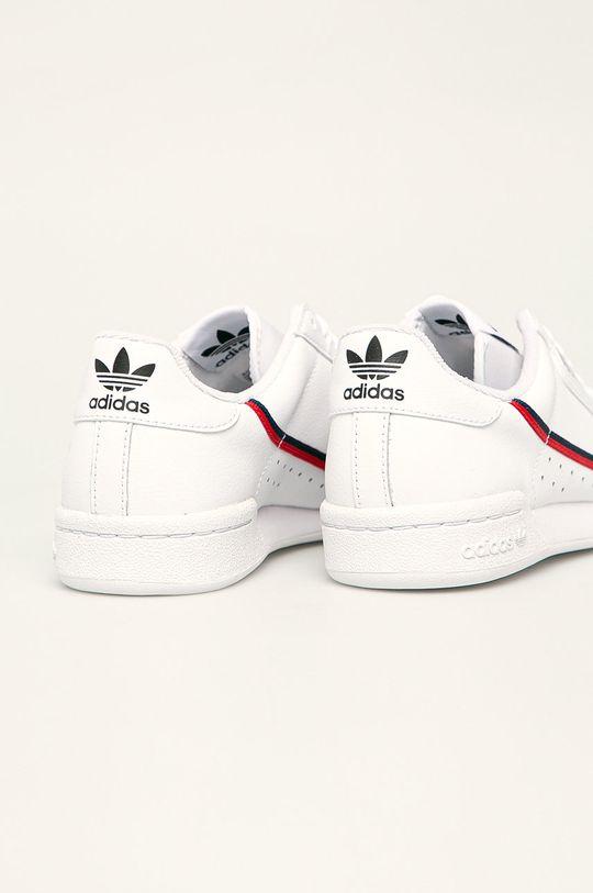 bílá adidas Originals - Dětské boty Continental 80