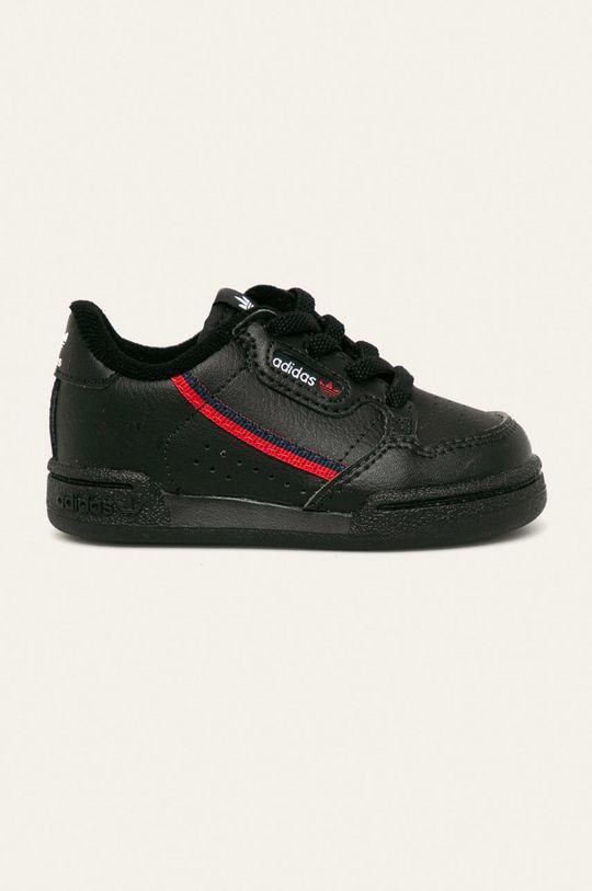 černá adidas Originals - Dětské boty Continental 80 EL I Dětský
