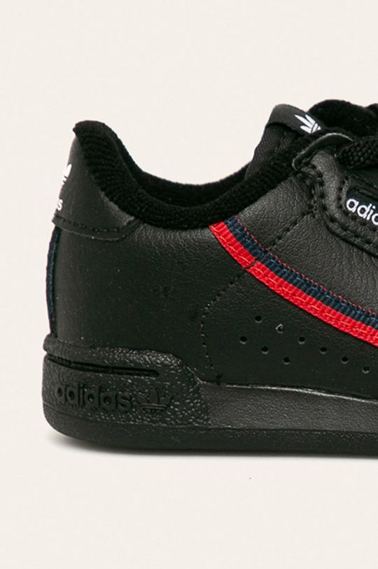 černá adidas Originals - Dětské boty Continental 80 EL I