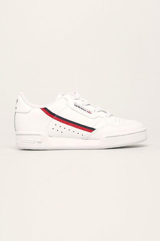 bílá adidas Originals - Dětské boty Continental 80 Dětský