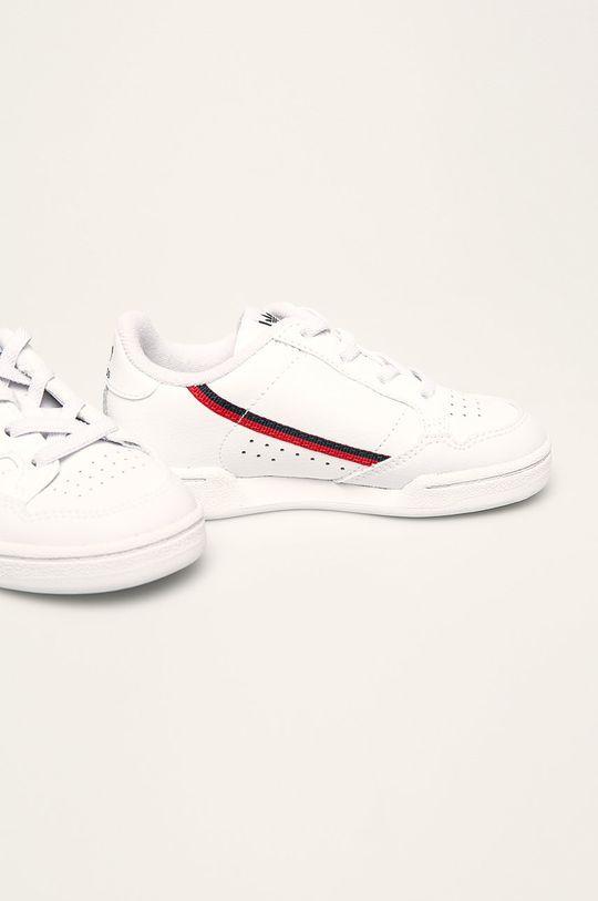adidas Originals - Dětské boty Continental 80 bílá