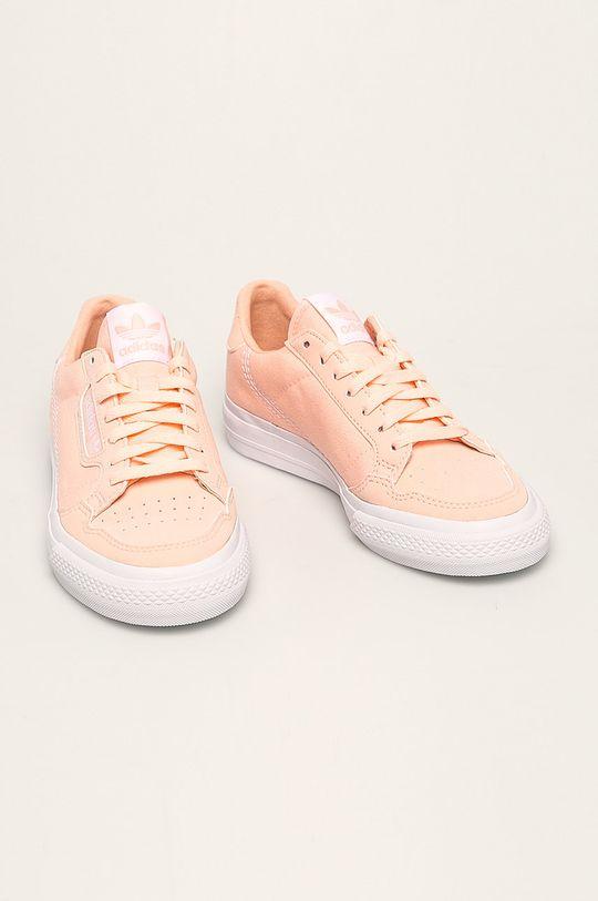 adidas Originals - Dětské boty Continental Vulc pastelová