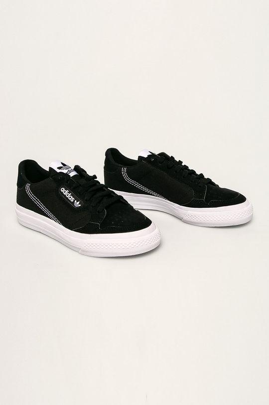 adidas Originals - Dětské boty Continental Vulc černá