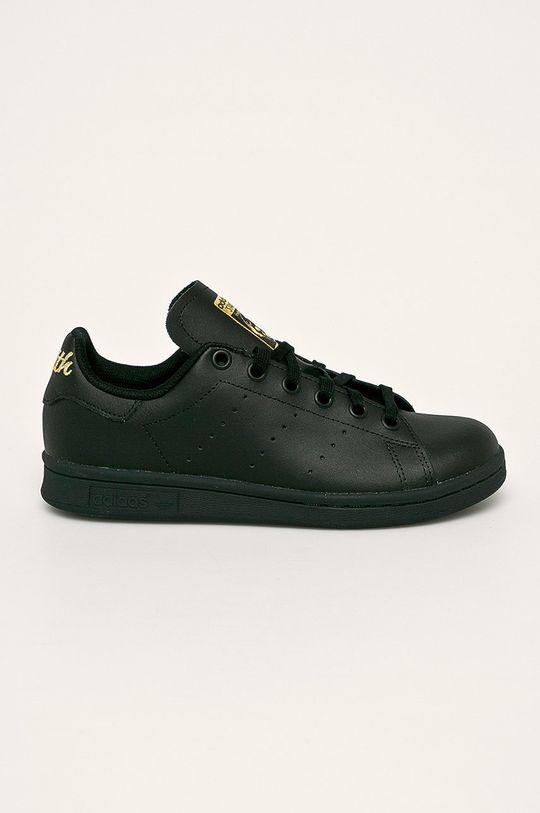 negru adidas Originals - Pantofi copii Stan Smith De copii