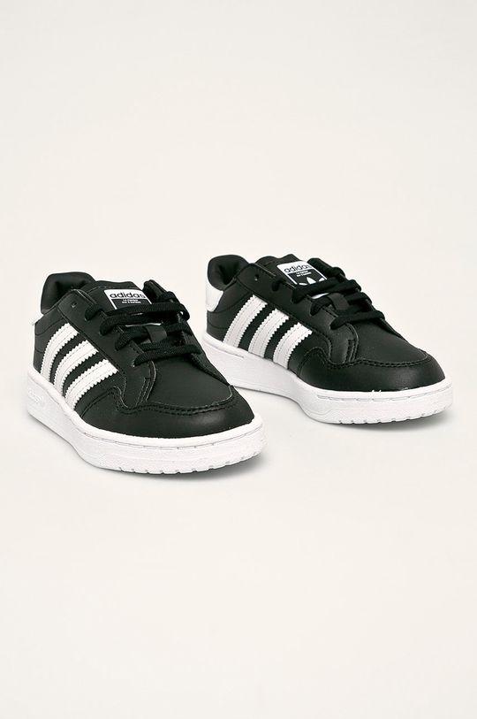 adidas Originals - Dětské boty Team Court C černá