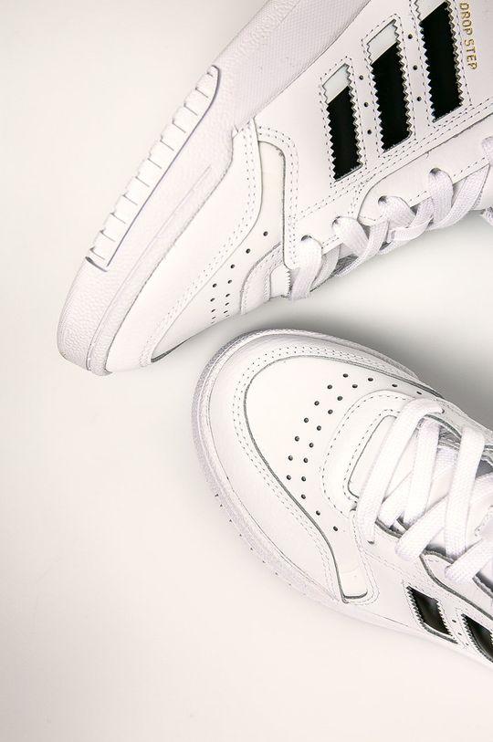 biela adidas Originals - Detské topánky Drop Step