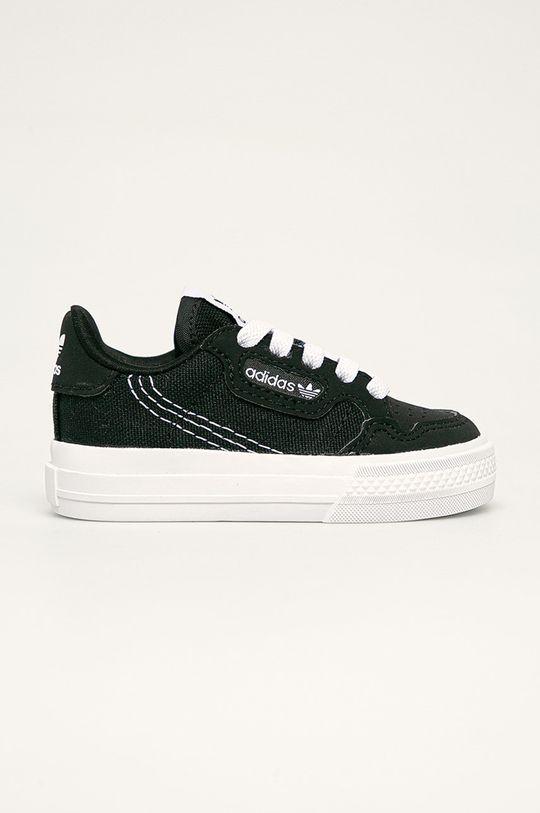 negru adidas Originals - Tenisi copii Continental Vulc El 1 De copii