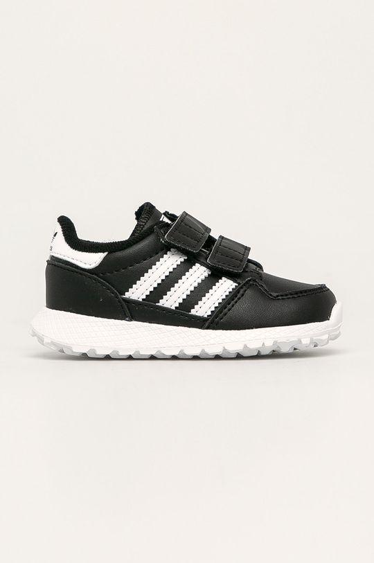 negru adidas Originals - Pantofi copii Forest Grove CF I De copii