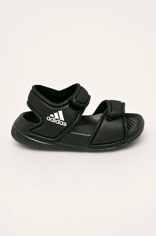 černá adidas - Dětské sandály Dětský