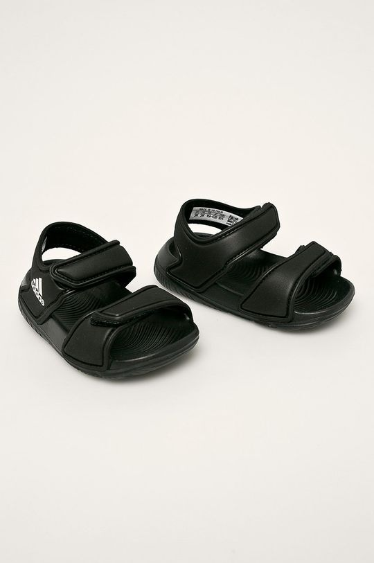 adidas - Dětské sandály černá