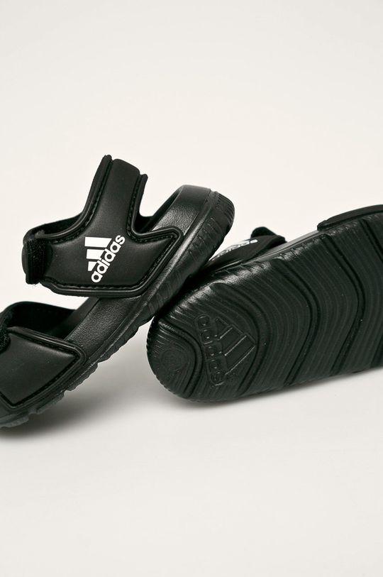 černá adidas - Dětské sandály