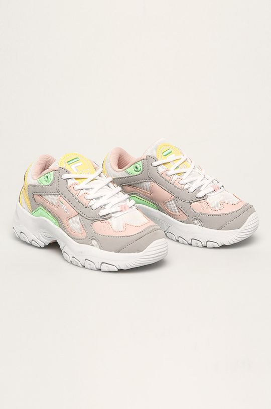 Fila - Pantofi copii Select CB low gri deschis