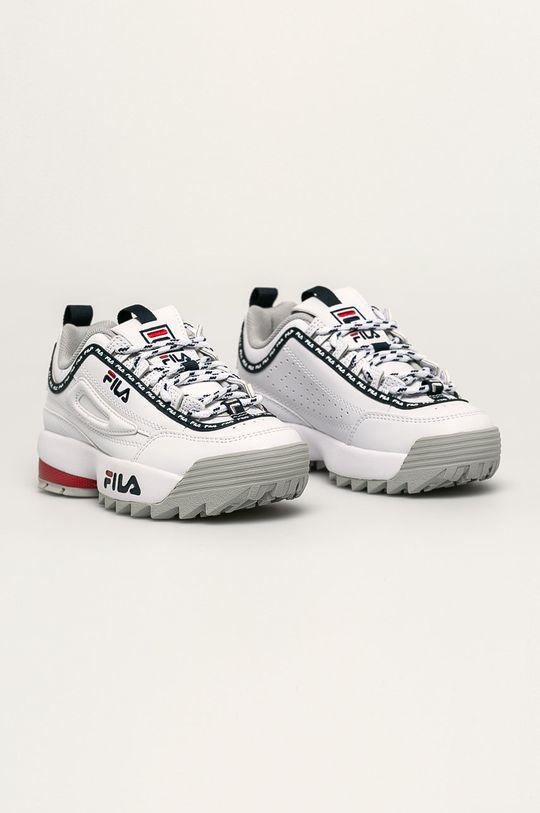 Fila - Pantofi copii Disruptor Logo JR alb