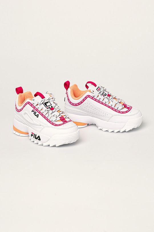 Fila - Pantofi copii Disruptor Logo JR roz ascutit