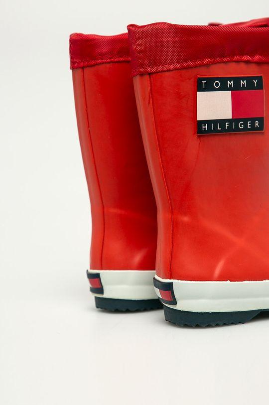 Tommy Hilfiger - Kalosze dziecięce Cholewka: Materiał syntetyczny, Wnętrze: Materiał tekstylny, Podeszwa: Materiał syntetyczny