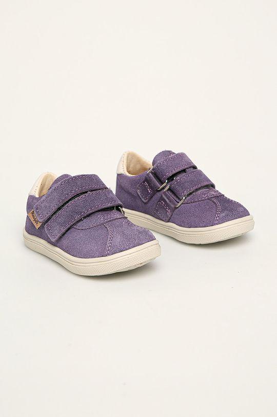 Mrugała - Detské topánky levanduľová