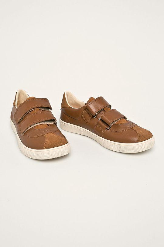 Mrugała - Detské topánky hnedá