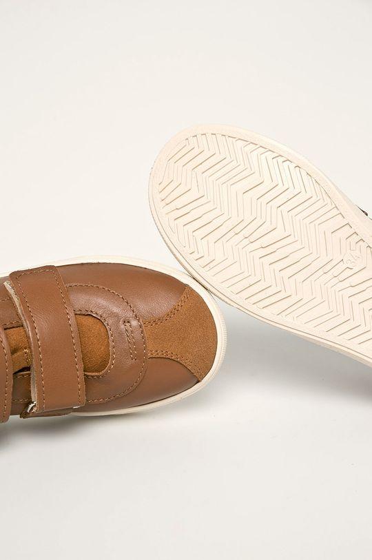 hnedá Mrugała - Detské topánky
