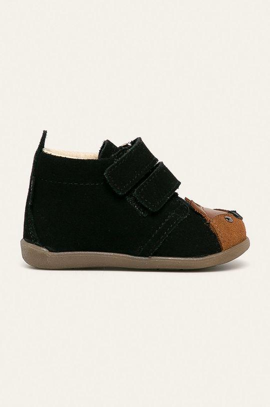 čierna Mrugała - Detské topánky Detský