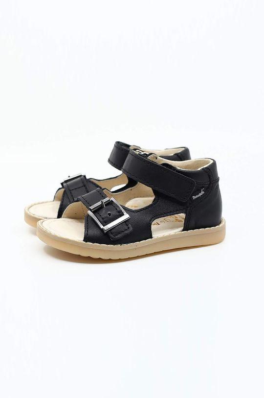černá Mrugała - Dětské sandály Dětský