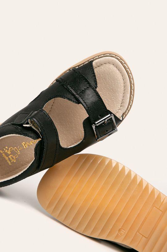 černá Mrugała - Dětské sandály