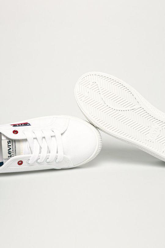 biały Levi's - Tenisówki dziecięce