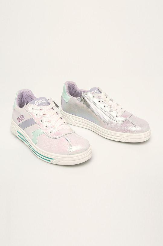 Primigi - Dětské boty stříbrná