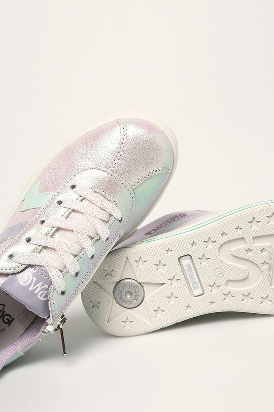stříbrná Primigi - Dětské boty
