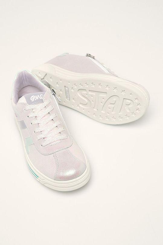 strieborná Primigi - Detské topánky