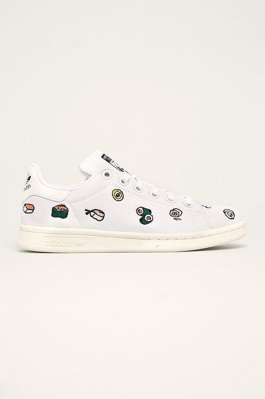 biela adidas Originals - Detské topánky Stan Smith Detský