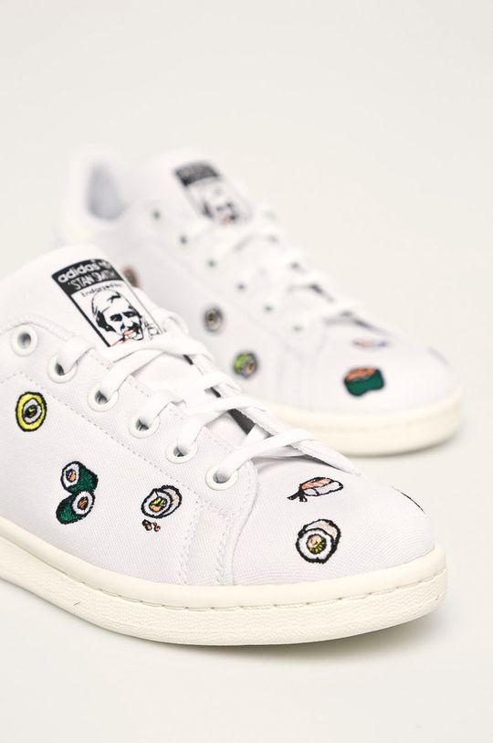 biela adidas Originals - Detské topánky Stan Smith