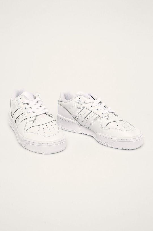 adidas Originals - Pantofi copii Rivalry Low 3 alb