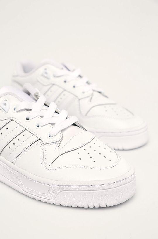 alb adidas Originals - Pantofi copii Rivalry Low 3