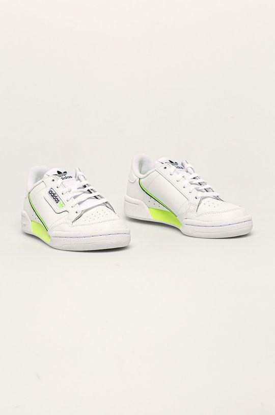 adidas Originals - Boty Continental 80 bílá