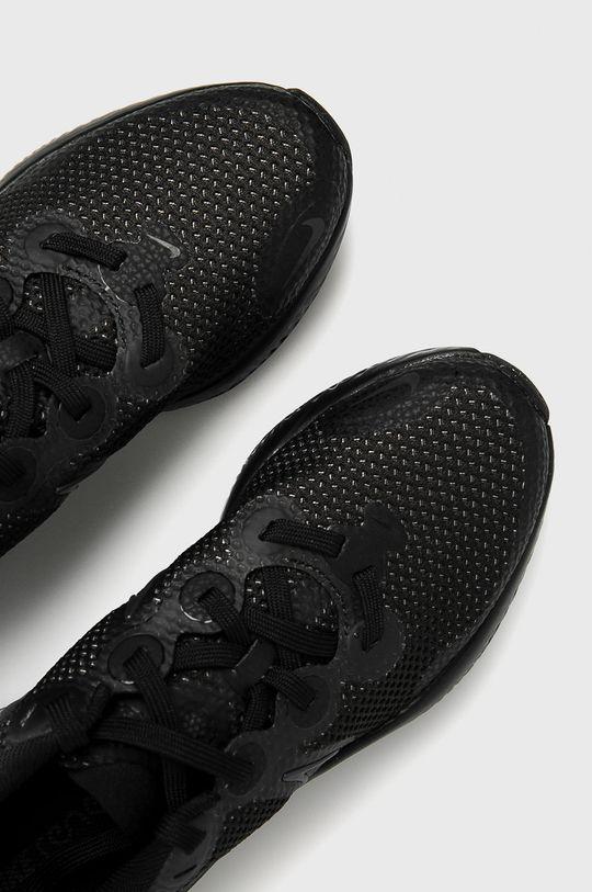 černá Nike Kids - Dětské boty Renew Run