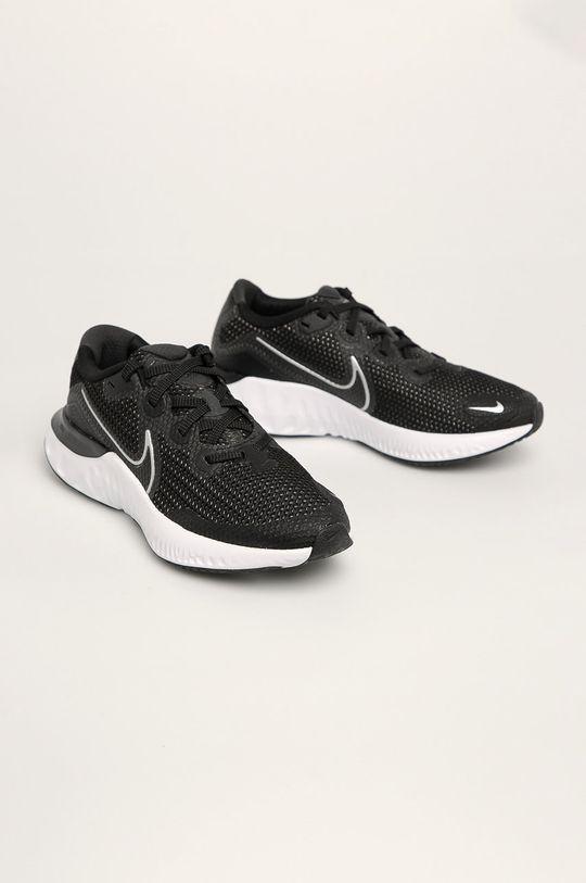 Nike Kids - Dětské boty Renew Run černá
