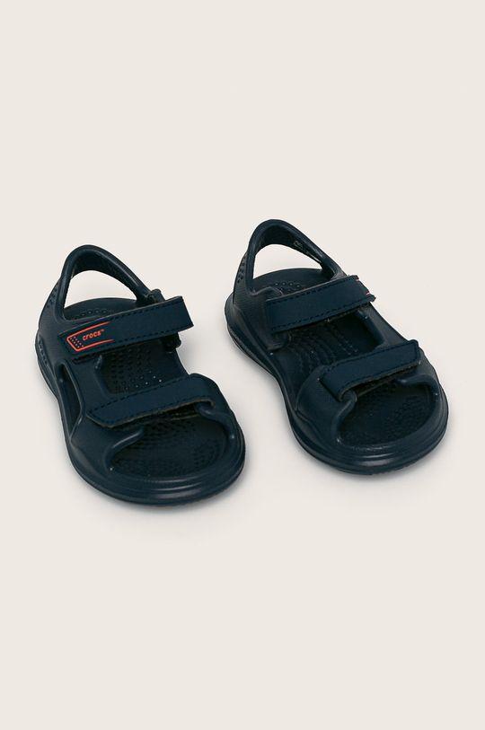 Crocs - Sandały dziecięce granatowy