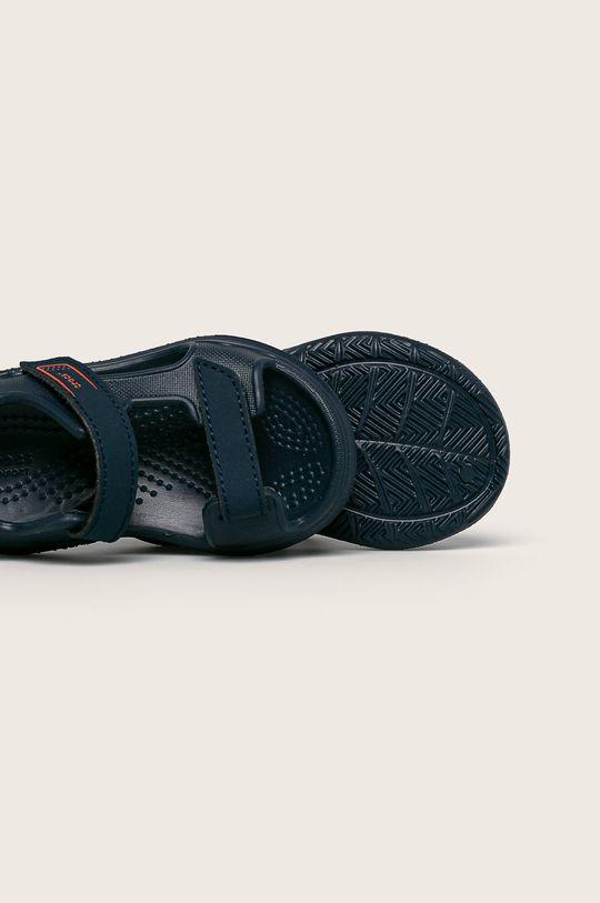 granatowy Crocs - Sandały dziecięce