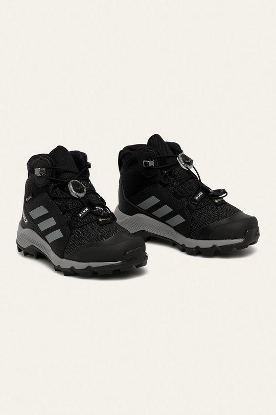 adidas Performance - Dětské boty Terrex Mid Gtx černá