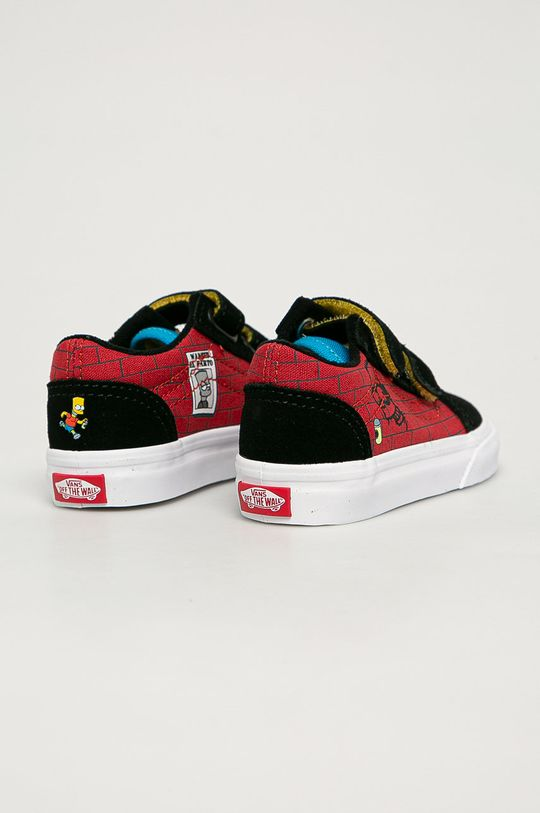 czarny Vans - Tenisówki dziecięce x The Simpsons